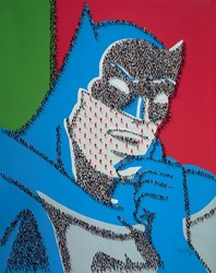 Caped Crusader by Craig Alan -  sized 48x60 inches. Available from Whitewall Galleries